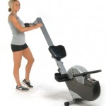 Stamina Air Rower (Black, Chrome) 35-1399 small4