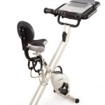 FitDesk FDX 2 Desk Exercise Bike with Massage Bar small3