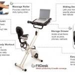 FitDesk FDX 2 Desk Exercise Bike